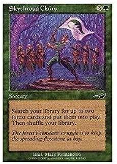Magic: the Gathering - Skyshroud Claim - Nemesis by Magic: the Gathering: Amazon.es: Juguetes y juegos