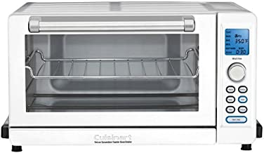 Cuisinart TOB-135W Deluxe Convection Toaster Oven Broiler, White