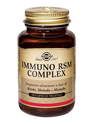 Solgar Immuno RSM Complex Integratore Alimentare Immunostimolante - 50 Capsule Vegetali