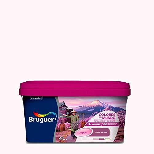 Bruguer-Pintura Colores del mundo Japón matiz de Violeta 4L