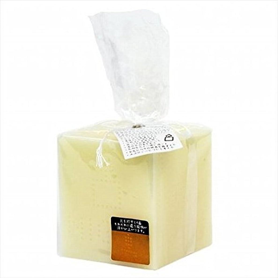 丁寧時折おなじみのkameyama candle(カメヤマキャンドル) キャンドルナイト キャンドル 70x70x160mm (A8640000)