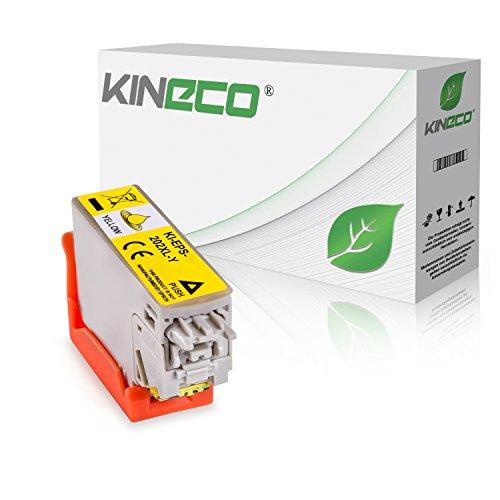 Kineco Tintenpatrone kompatibel für Epson Expression Premium XP-6000 Epson Expression Premium XP-6005 202XL C13T02H44010 Gelb