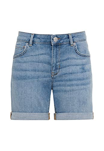 HALLHUBER Jeansshorts aus Candiani Denim gerade geschnitten Light Blue Denim, 42