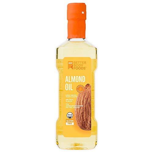 BetterBody Foods Refined Almond Oil, 16.9 Ounce