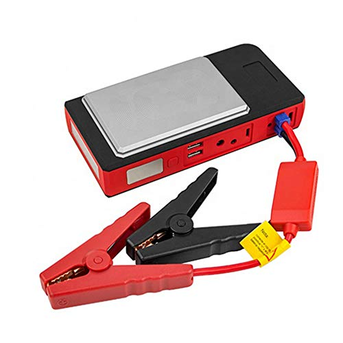 HSART Portable Car Lithium Jump Starter 13500Ma Peak 800A 12V Car Emergency Power Supply Wireless Charging Phone Charger Power Pack for Car Truck ATV SUV Boat
