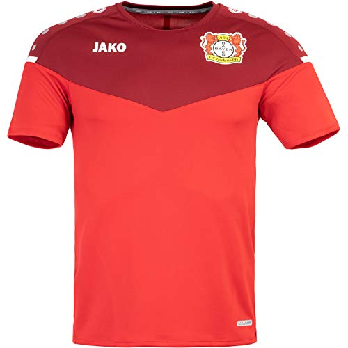 JAKO Bayer 04 Leverkusen Champ 2.0 Trikot (L, red/Bordeaux)