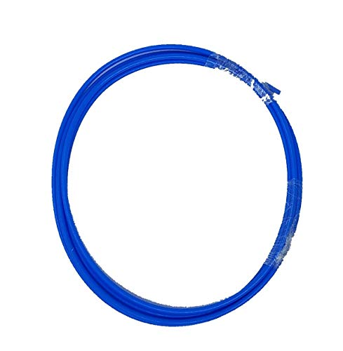 Colored Bowden Tube PTFE TeflonTube for 1.75 Filament (2.0mm ID/4.0mm OD +/- .01mm) 2.0 Meters (6.6 ft) (Blue, 1)