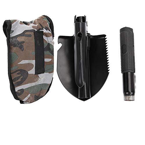 Tihebeyan Multifunktionale Mini Faltbare Schaufel Survival Spade Entrenching Tool mit Aufbewahrungstasche für Camping, Wandern, Trekking, Gartenarbeit, Angeln, Backpacking