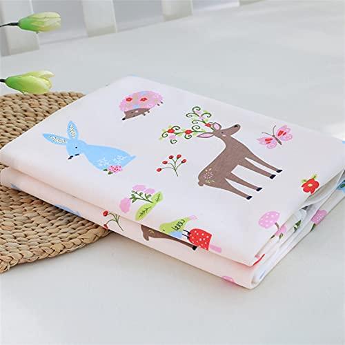 Liveinu Protector de colchón impermeable para cuna antideslizante y duradero impermeable para bebé almohadillas de cuna estándar de 70 x 39 pulgadas