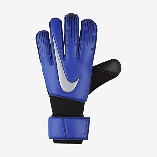 Nike Goalkeeper Vapor Grip3 - Guanti da portiere per adulti, colore: blu/nero/argento metallizzato, 8