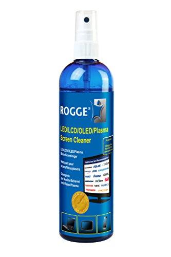 Rogge 325030 LCD/TFT/Plasma Líquido para Limpieza de Equipos Kit de Limpieza para computadora - Kit de Limpieza para Ordenador (Líquido para Limpieza de Equipos, LCD/TFT/Plasma)