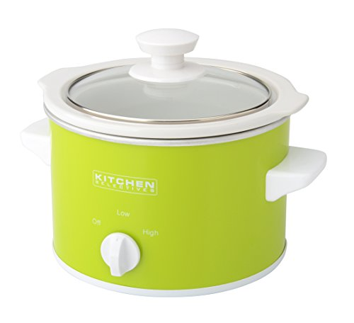 Kitchen Selectives Slow Cooker, 1.5-Quart, Red
