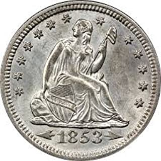 seated liberty quarter mint mark