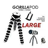 MODERN IN Gorilla Tripod 13 inch + Mobile Holder - Fully Flexible Foldable