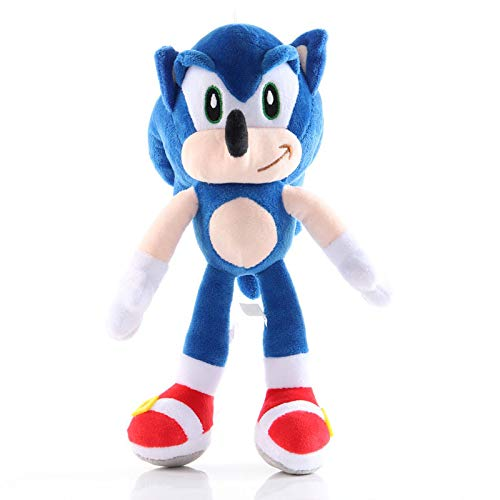 Sonic Plush 11' Sonic Hedgehog Toy, Sonic The Hedgehog Plush Figure, Sonic Cute Doll Gift for Boys Girls (Blue)