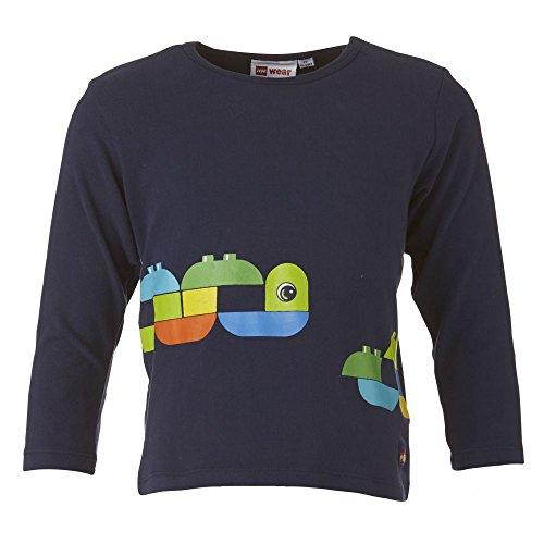 Lego Wear - T-Shirt à manches longues - Garçon Bleu bleu 104