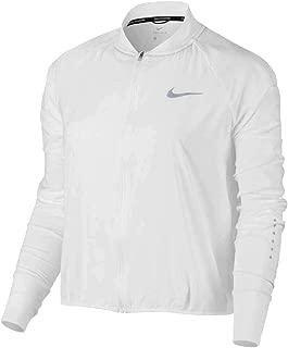Flex Women's Dri-Fit Bomber Running Jacket White 849450 100