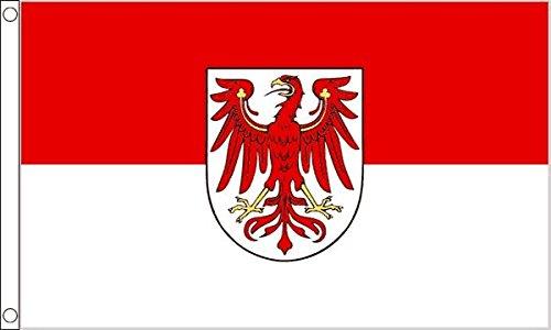The Flag Wholesaler b007052Brandenburger Flagge, Mehrfarbig, 24x 1x 23cm