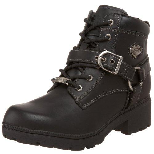Harley-Davidson Women's Tegan Ankle Boot ,Black,9.5 M US