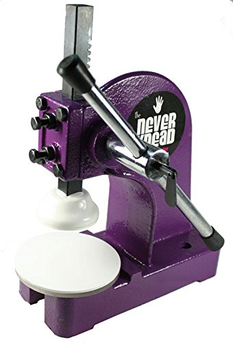 Easy Kneading of Polymer Clay - Purple NEVERknead Tool is The Machine for All Polymer Clay Including Sculpey Fimo Cernit Pardo Art Clay & More