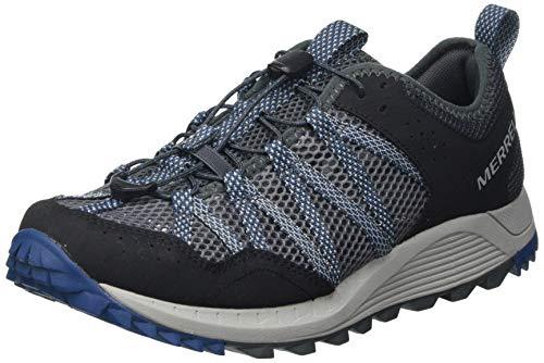 Merrell Wildwood AEROSPORT, Zapatillas para Caminar Hombre, Gris (Rock), 40 EU