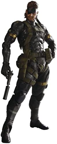 Metal Gear Solid Peace Walker Square Enix Play Arts Kai Action Figure Snake Sneaking Suit (japan import)