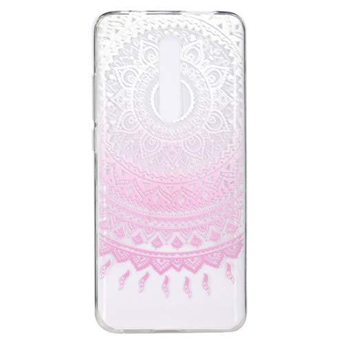 Liluyao Funda telefónica para Xiaomi Elegante y Hermoso patrón de protección contra caída de TPU for Xiaomi Redmi K20 / K20 Pro (Color : Pink Pattern)