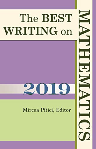 The Best Writing on Mathematics 2019 by Mircea Pitici