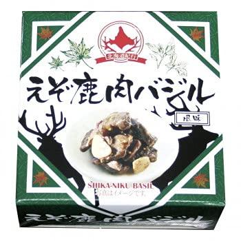 北都 えぞ鹿バジル風味 缶詰 70g 10箱セット
