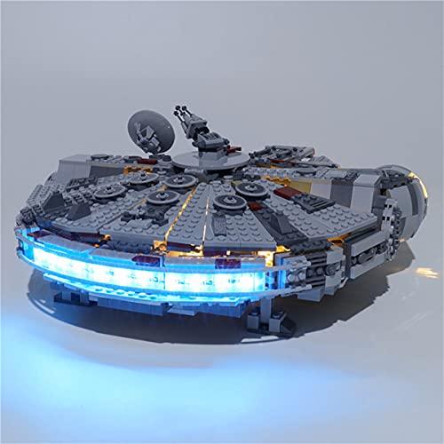 Kit De IluminacióN Led Para Star Wars Halcón Milenario, Juego De Juguetes Compatible Con Lego 75257(No Incluye El Modelo)