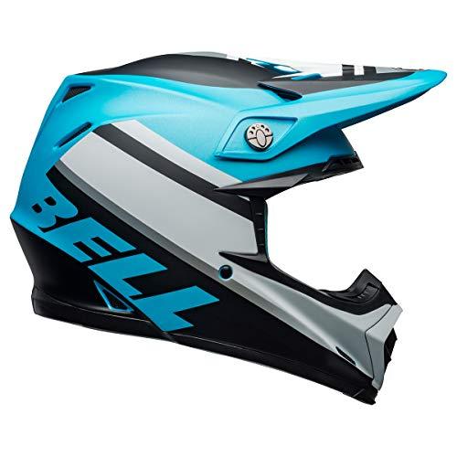 Bell Moto-9 MIPS Dirt Helmet - Prophecy Matte White/Black/Blue - Small