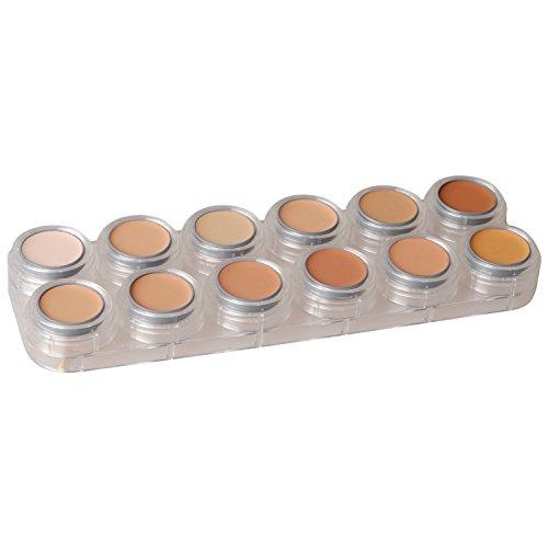Creme Makeup-Palette V mit 12 Farben