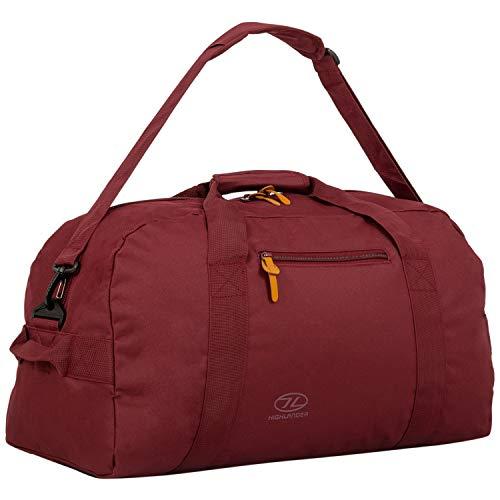 Highlander Cargo Bag unisex volwassenen, 45 liter, robuuste zeildoektas, ideaal voor op reis of als sporttas, poort, 45 liter