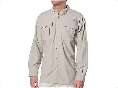 Columbia Bahama II Long Sleeve Shirt (Fossil) Men