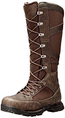 "Danner mens Pronghorn Snake Boot Side-zip 17"" hunting shoes, Brown - Full Grain, 16 US"