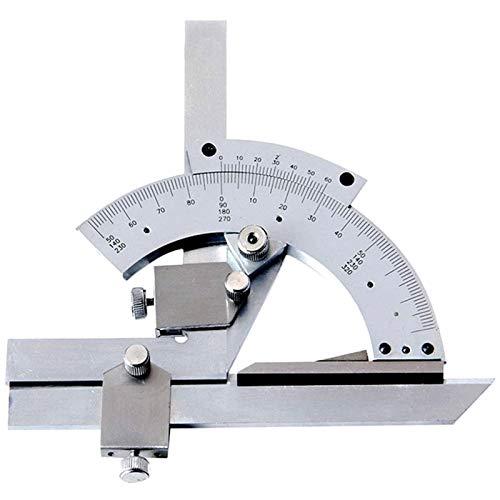 Nonius-Winkelmesser,0-320° Universal-Winkelmesser Mit Aufbewahrungsbox,Antiseptisches Lineal Aus Edelstahl Zur Messung Von Innen- Und Außenwinkeln