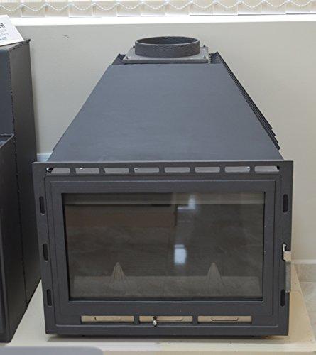 Insertar–Chimenea estufa de leña caldera agua chaqueta 14kW