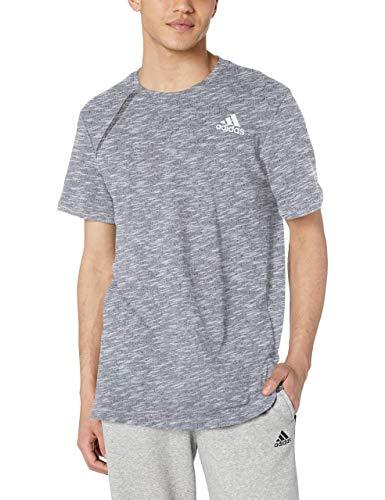 adidas Camiseta de Manga Corta para Hombre, Hombre, S18BMACT700, Gris sólido Claro, XL