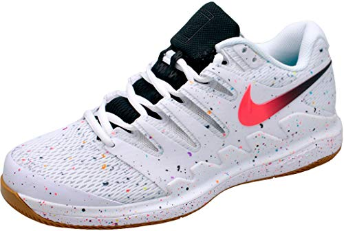 Nike Zoom Air Vapor X HC, Zapatillas de Tenis Hombre, Blanco White Laser Crimson Oracle AQU 108, 44 EU