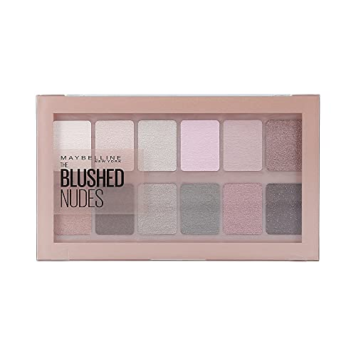 Maybelline Maybelline Blushed Nudes Eyeshadow Palette - Nude, Blush & Plum, Blushed Nudes, 1 count