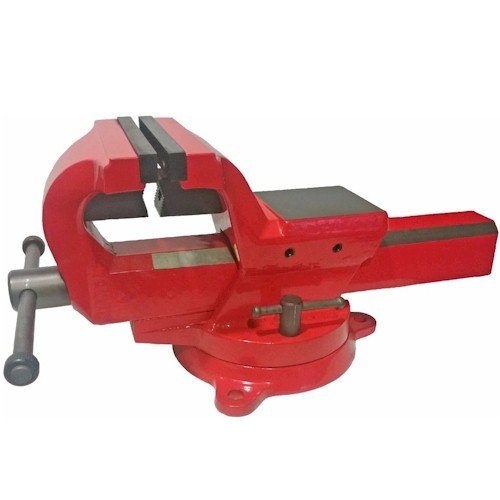 4 Inch 130,000 PSI Austempered Ductile Iron Bench Vise with 360-Degree Swivel Base superseding Yost FSV-4 Yost Vises ADI-4 ADI