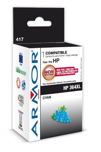 Armor Box gereviseerd voor printers met HP 364 X L C cyaan
