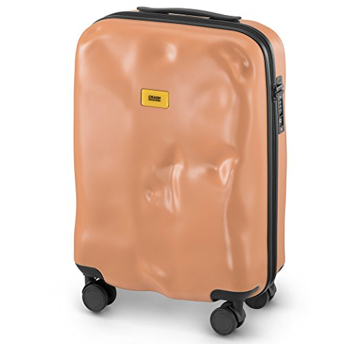 Best Deals! Crash Baggage Icon Trolley Suitcase | Pink | Size - Small