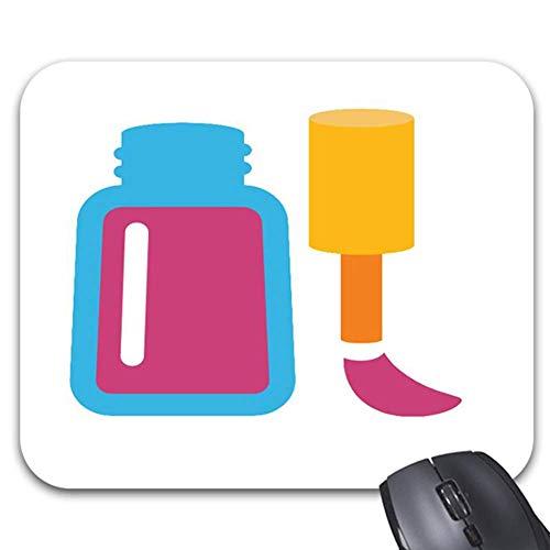 Mauspad Nägel Polnisch Rosa 25X30Cm Computer Desktop Gedruckte Büromausmatte Langlebig Stilvolle Bunte Tastatur Mauspad Tisch Office Spielzubehör Personalisierte Arbeit Rutschfest