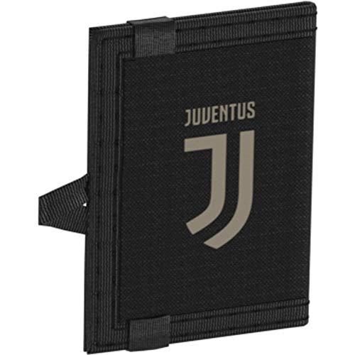 adidas Juve Wallet Monedero, 25 cm, Negro/Arcill