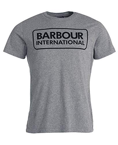 Barbour International Graphic tee Anthracite-M