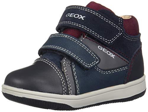 Geox Baby Jungen B New Flick Boy B Sneaker, Blau (Navy/Grey C0661), 22 EU