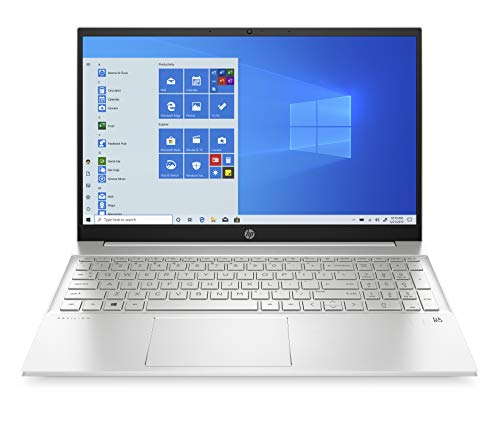 HP Pavilion 15-eg0019ns - Ordenador portátil de 15.6' Full HD (Intel Core i7-1165G7, 16GB RAM, 1000GB SSD, Intel Iris Xe Graphics, Windows 10 Home) Silver - Teclado QWERTY Español