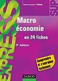 Macroéconomie - 3e édition - en 24 fiches - En 24 fiches