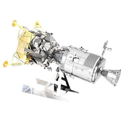 Metal Earth 502518 Apollo CSM + LM-Kit de construcción de Metal